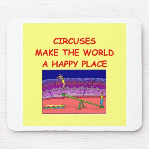 circuses mousepad