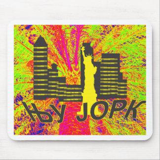 Cirílico de Nueva York Mousepad