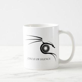 Cirlce of Silence Graphic - Dark Coffee Mug