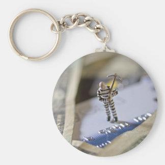 Cirme Basic Round Button Keychain