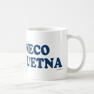 Cirneco Dell&Apos;Etna Blue Coffee Mug
