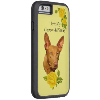 Cirneco dell'Etna and Yellow Roses Tough Xtreme iPhone 6 Case