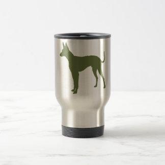 Cirneco dell'Etna 15 Oz Stainless Steel Travel Mug