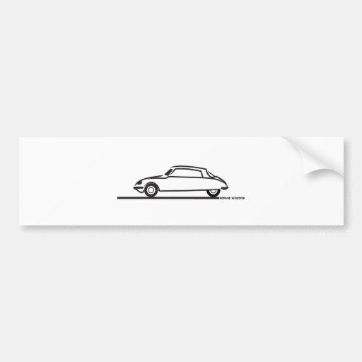 Ciroen DS 21 Pallas Bumper Stickers