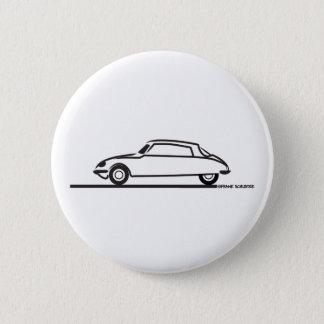 Ciroen DS 21 Pallas Pinback Button