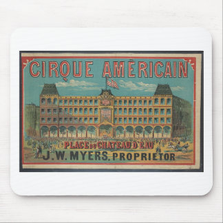 Cirque americain mouse pad
