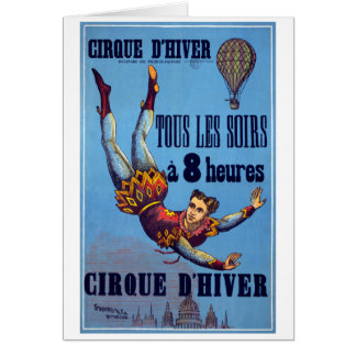 Cirque dʹHiver c 1880 Greeting Cards