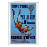 Cirque dʹHiver, c.1880 Greeting Cards
