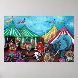 Cirque De Freaks Poster Póster