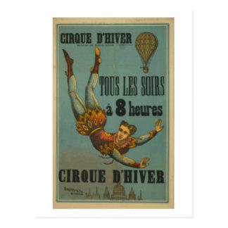 Cirque D'Hiver Postcard