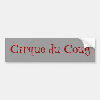 Cirque du Coug Pegatina De Parachoque
