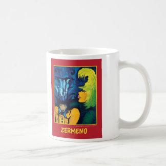 """""""Cirque Mère Et Enfant"""" by Zerme Coffee Mug"""
