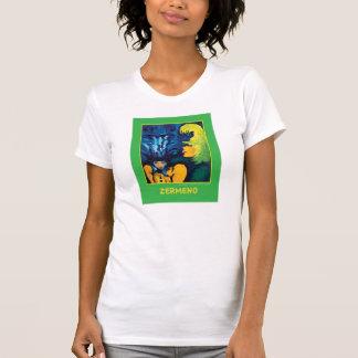 """Cirque Mère Et Enfant"" (Light Green) by Zermeno T-Shirt"
