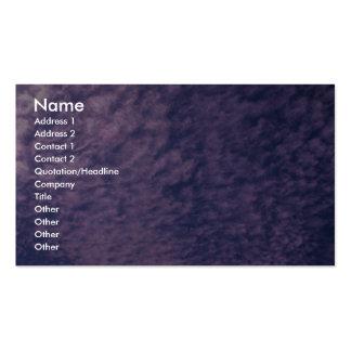 Cirrocúmulo hermoso tarjetas de visita