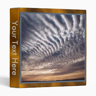 Cirrocumulus Clouds Binder
