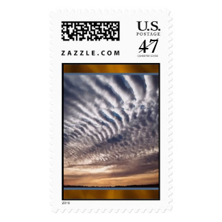 Cirrocumulus Clouds Postage Stamps