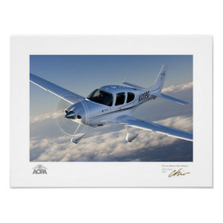 Cirrus Above the Clouds Gallery Poster