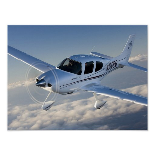 Cirrus Above the Clouds Poster