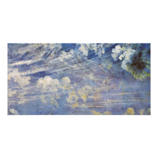 Cirrus (Cirrus Clouds Study) By John Constable (Be Custom Photo Card