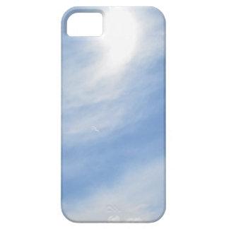 Cirrus Clouds and Sun iPhone case