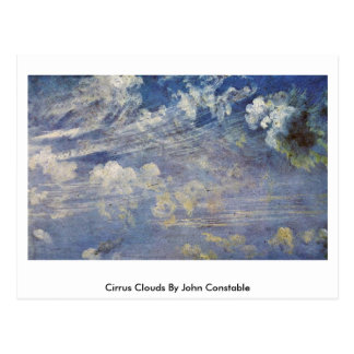 Cirrus Clouds By John Constable Postcard
