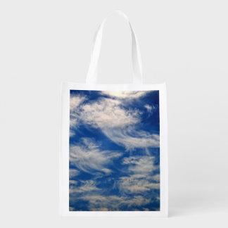 Cirrus Clouds like Angels flying Market Tote
