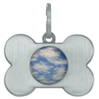 Cirrus Clouds like Angels flying Pet Name Tag