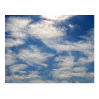 Cirrus Clouds like Angels flying Postcard