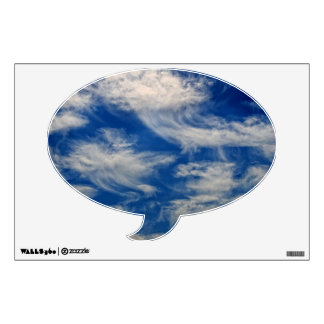 Cirrus Clouds like Angels flying Wall Decal