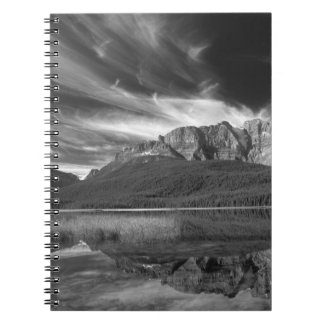 Cirrus clouds over Waterfowl Lake, Banff Notebook