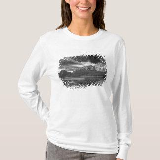 Cirrus clouds over Waterfowl Lake, Banff T-Shirt