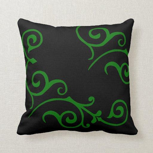Cirrus Ebony (Green) Pillow