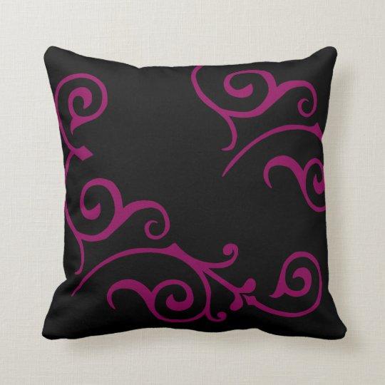 Cirrus Ebony (Red-Violet) Pillow