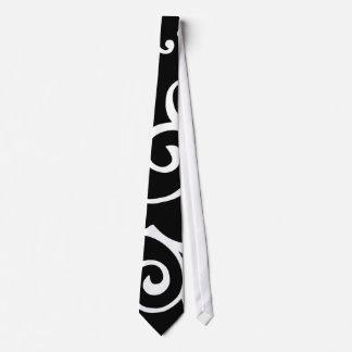 Cirrus Ebony (White) Tie