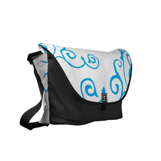 Cirrus Ivory (Cyan) Messenger Bag