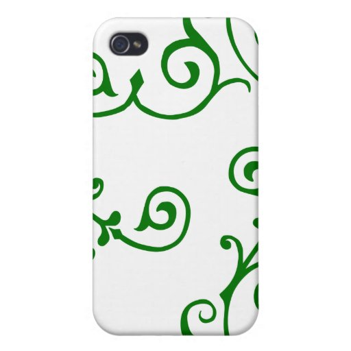 Cirrus Ivory (Green) iPhone Case iPhone 4/4S Covers