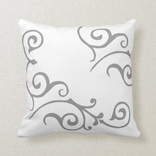Cirrus Ivory (Grey) Pillow