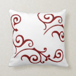Cirrus Ivory (Red) Pillow
