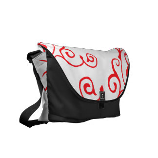 Cirrus Ivory (Ruby) Messenger Bag