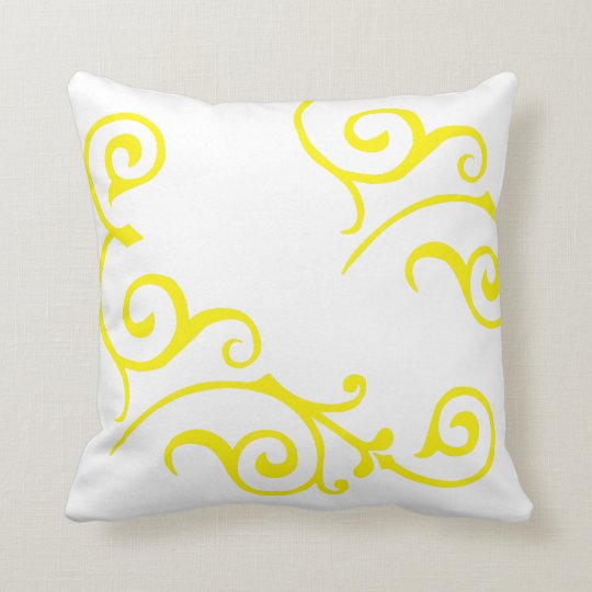 Cirrus Ivory (Yellow) Pillow