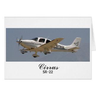 Cirrus SR22 - 2, Cirrus, SR-22 Card