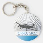 Cirrus SR22 Keychain