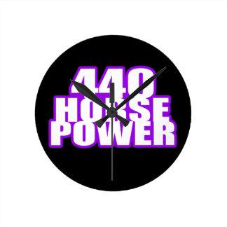 ciruelo 440 locos mopar reloj de pared
