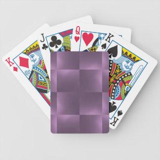 ciruelo brillante de los controles baraja cartas de poker