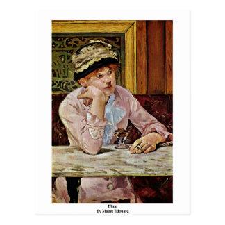 Ciruelo de Manet Eduardo Tarjetas Postales