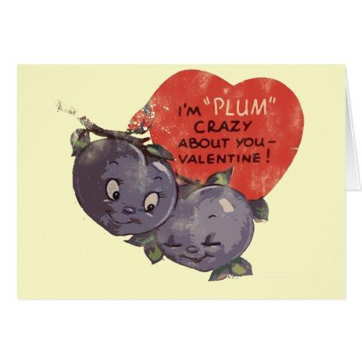 Ciruelo loco por mi tarjeta del día de San Valentí
