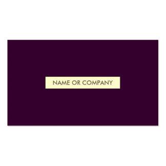 ciruelo refinado plantilla de tarjeta de visita