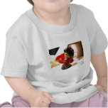 Ciruelo rojo I Camisetas