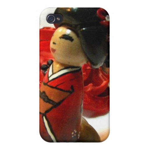 Ciruelo rojo I iPhone 4/4S Carcasas