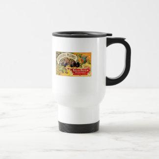 Ciruelos imperiales taza de viaje de acero inoxidable